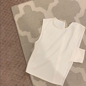 TOBI cutout side tank white size small